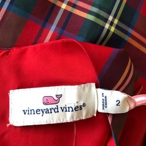 Vineyard Vines Dresses - NWT! Women's Vineyard Vines Jolly Plaid Amelia